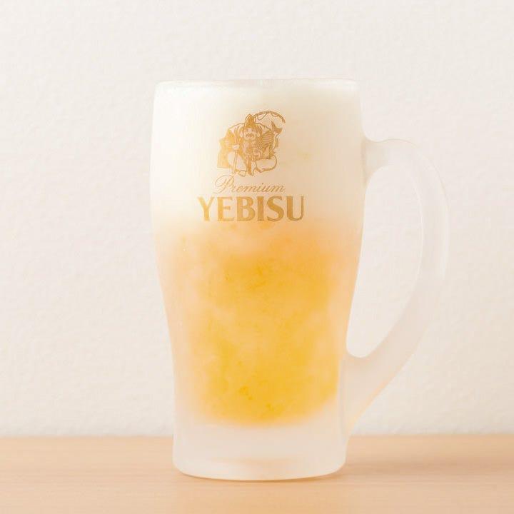 エビス生ビールがいつでも218円!