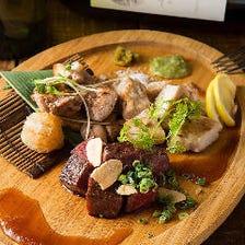 ◆こだわり食材満載の創作洋食に舌鼓