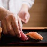 人気のにぎり寿司もご用意!