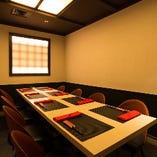 テーブル席個室(5名様~8名様)