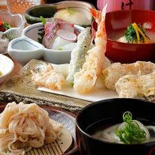 天ぷら×魚&和食のコース