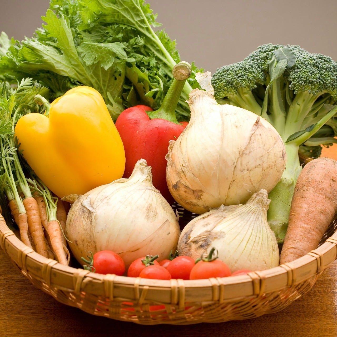 こだわり野菜を求めて。