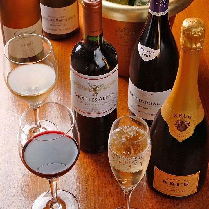 ワインに魅せられて。
