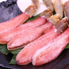 北海道産 ズワイガニのお刺身
