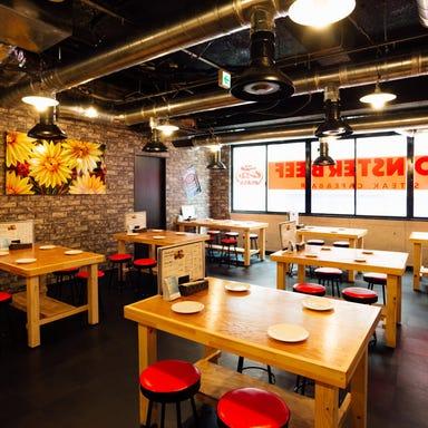肉カフェ&バル モンスタービーフ 本川越店 店内の画像
