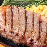 穀物飼育の熟成ロースステーキ