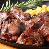 穀物飼育のリブロース/サイコロステーキ