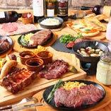 肉を食べ尽くす!肉三昧コース