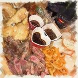 [名物!肉] ド迫力!!!ボリューム満点★ガッツリ塊肉をどうぞ