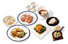 中華+洋食+飲み放題付き「オリエンタルコース」全8品