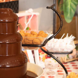 【チョコファウンテン】 スイーツ好きは必見!チョコが魅力的◎