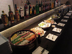 お寿司は大人気です!予算内で手配いたします。