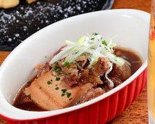 ■じっくり煮込んだ『肉豆腐』