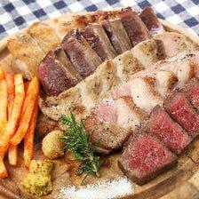 肉皿5種盛り たっぷり450gオーバー!