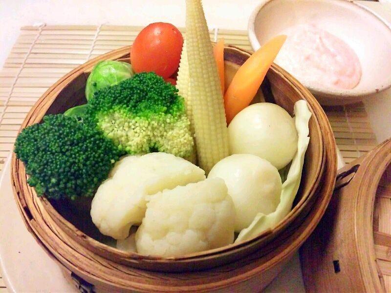 ヘルシーな旬野菜料理