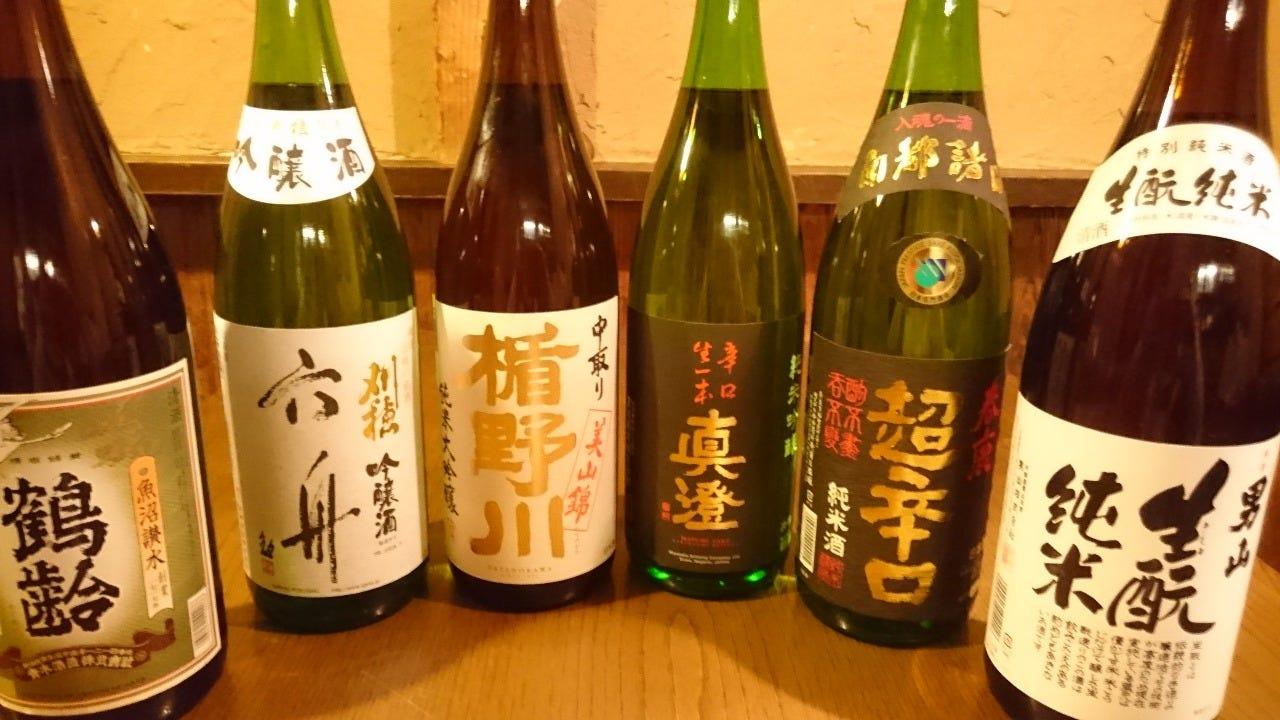 厳選地酒・本格焼酎