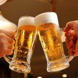 美味しいビールを堪能ください