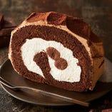 【期間限定】生チョコのロールケーキ