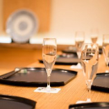 個室のお座敷がテーブル席になりました。ご家族のお祝等に