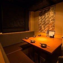 ◆全席半個室!お席で喫煙可能◆