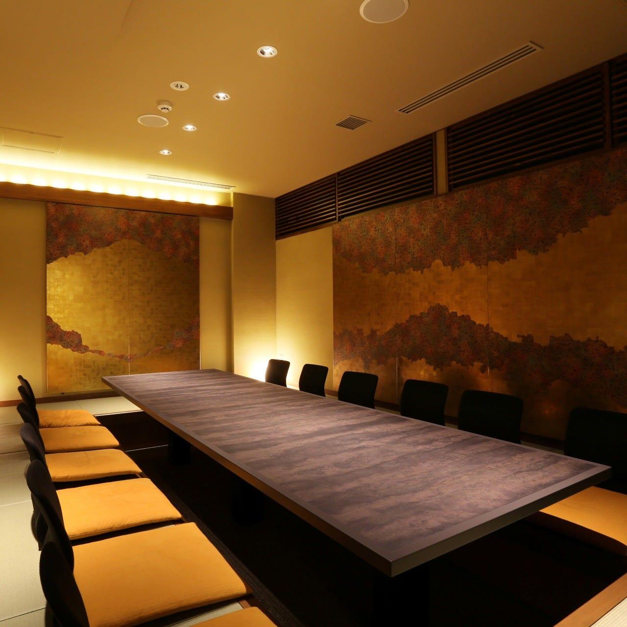 接待、会食におすすめの全室個室