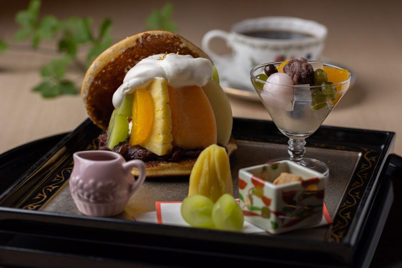 ≪茶房・華の縁≫高級フルーツどら焼き/ドリンク付き≪13:00~16:30限定≫