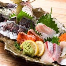 いけす直送!鮮度抜群の海鮮が美味い