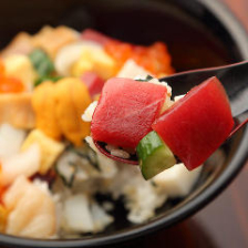 ばらちらし寿司  時短中はランチタイム17時まで