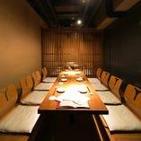 個室はコースご利用のお客様限定となります。