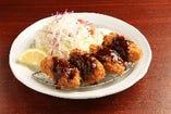 広島産牡蠣フライ定食