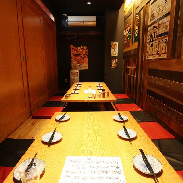 全80席!!新宿の夜景を望む広々酒場