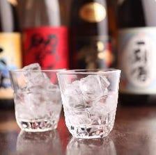 日本酒をはじめ豊富なお酒をご用意