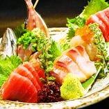 市場直送の新鮮な魚介のお料理でご宴会!職人の腕で調理します♪