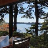 絶景の松島を眺めながら、心地よいひと時を。