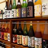 日本酒・梅酒・焼酎…圧巻の品揃え!裏メニューもございます!