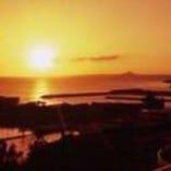 東シナ海が見渡せ、 水平線に沈む夕日をお楽しみ頂けます
