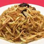上海式肉焼きそば 池波正太郎がこよなく愛してやまない大好物