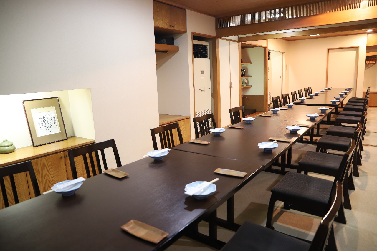 完全個室でのご宴会は最大70名様まで対応!昼宴会もご予約承り中