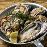 【数量限定】特大牡蠣のガンガンバンバン焼き