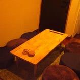 くつろぎのソファー席はプライベートな飲み会にぴったりです♪