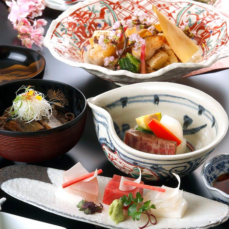 日本料理の伝統の味を!