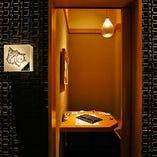 【2名様~個室あり】 プライベート空間で、気軽にお過ごしいただけます。