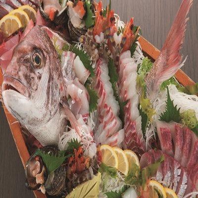 店主自ら選び抜いた鮮魚をご提供