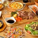 ◆食べ放題◆ コスパ抜群食べ放題プランも人気!