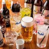 【お酒】 お得な飲み放題プランはご利用時間も選べます◎