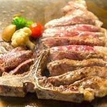 【当店人気No.1】他店ではなかなか味わえない北海道産和牛のTボーンステーキ