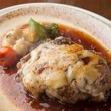【当店人気No.3】北海道産 和牛ハンバーグステーキ