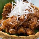 【凍結】鶏皮の甘辛せんべい