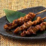 博多名物 鶏皮焼き串