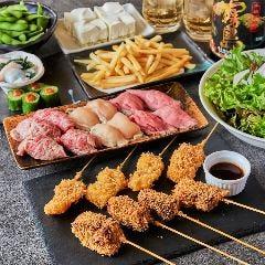 串と肉炙り寿司が旨い個室居酒屋 KUSHIEMON‐串笑門‐静岡本店